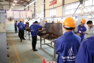 Vietnam Welders are doing the tradetest