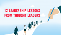 12 Leadership Lessons from Thought Leaders