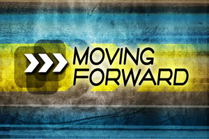 Are you moving forward or backward?