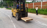 Forklift operator trade test