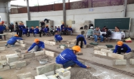 أنشطة مسابقات عمال البناء المهرة