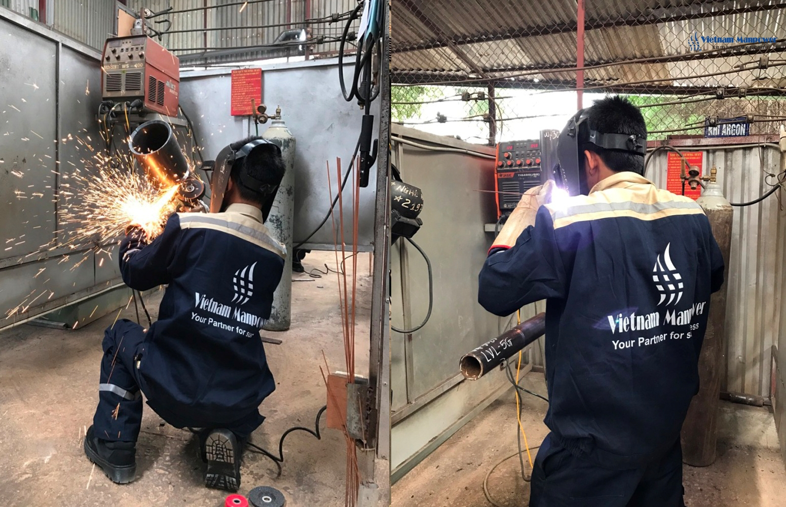 Vietnam Manpower successfully recruited 80 6G Welders and 10 more