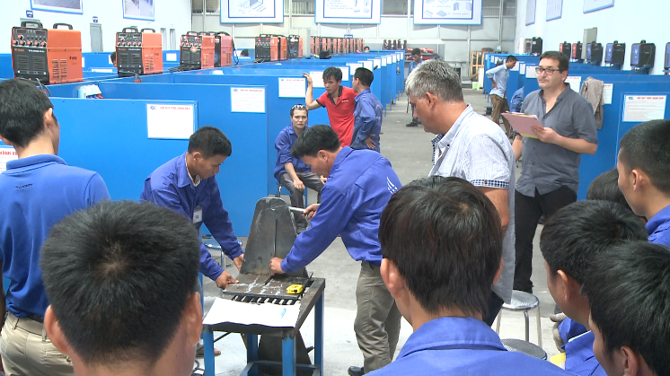 Vietnam Manpower's Recruitment Campaign to select 80 3G Welders and Steel Workers for Trinet Grup SRL-Romania