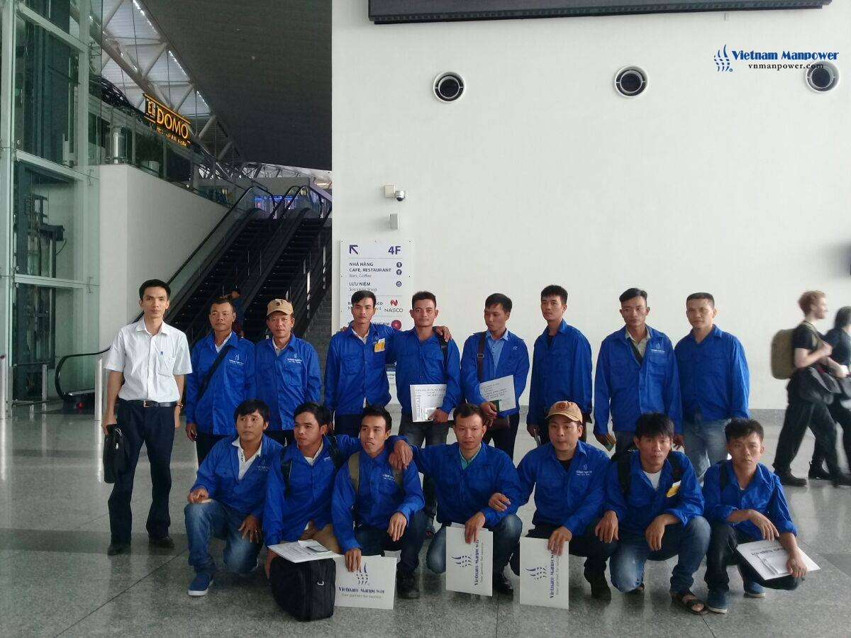 Vietnam Manpower successfully supplied 40 workers for Dammam