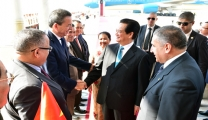 Prime Minister Nguyen Tan Dung has official visit Algeria