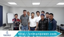 Vietnam Manpower's Representatives Visit Vietnamese Workers in Almarai on the Occasion of Lunar New Year