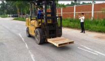 نظمت VietNam Manpower بنجاح مزود الاختبار تعمل 30 ميكانيكي رافعة شوكية وحام للشركة Porcellan شركة LLC، الإمارات العربية المتحدة