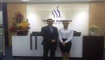 الشركاء وزوار المكتب و مراكز تدريب Vietnam Manpower مايو 2015