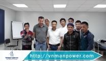 ممثل من فيتنام لزيارة العمال العاملين في شركة Almarai بمناسبة السنة القمرية الجديدة