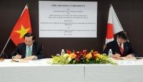فيتنام واليابان توقعان مذكرة تفاهم تفاهم حول التعاون العمل