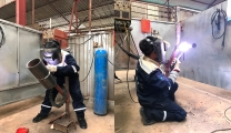 Vietnam Manpower successfully recruited 80 6G Welders  and 10 more high qualified welding positions for Saudi Aramco Project in Saudi Arabia