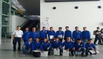 Vietnam Manpower successfully supplied 40 workers for Dammam Shipyard Company