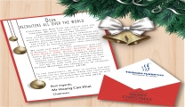 Christmas and New Year letter from Vietnam Manpower Chairman