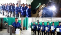 The second collaboration between STEEL STRUCTURES SRL ROMANIA & Vietnam Manpower has been completed successfully on December 19th, 2018