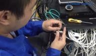 CCTV Technician Trade test for KSA Client