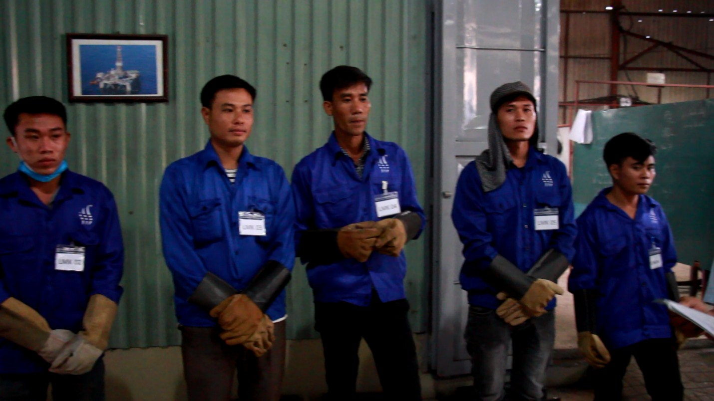 K.T Kft - Hungary cooperated with Vietnam Manpower Agency in employing Mig – Mag welders and foremen, 1st November 2018