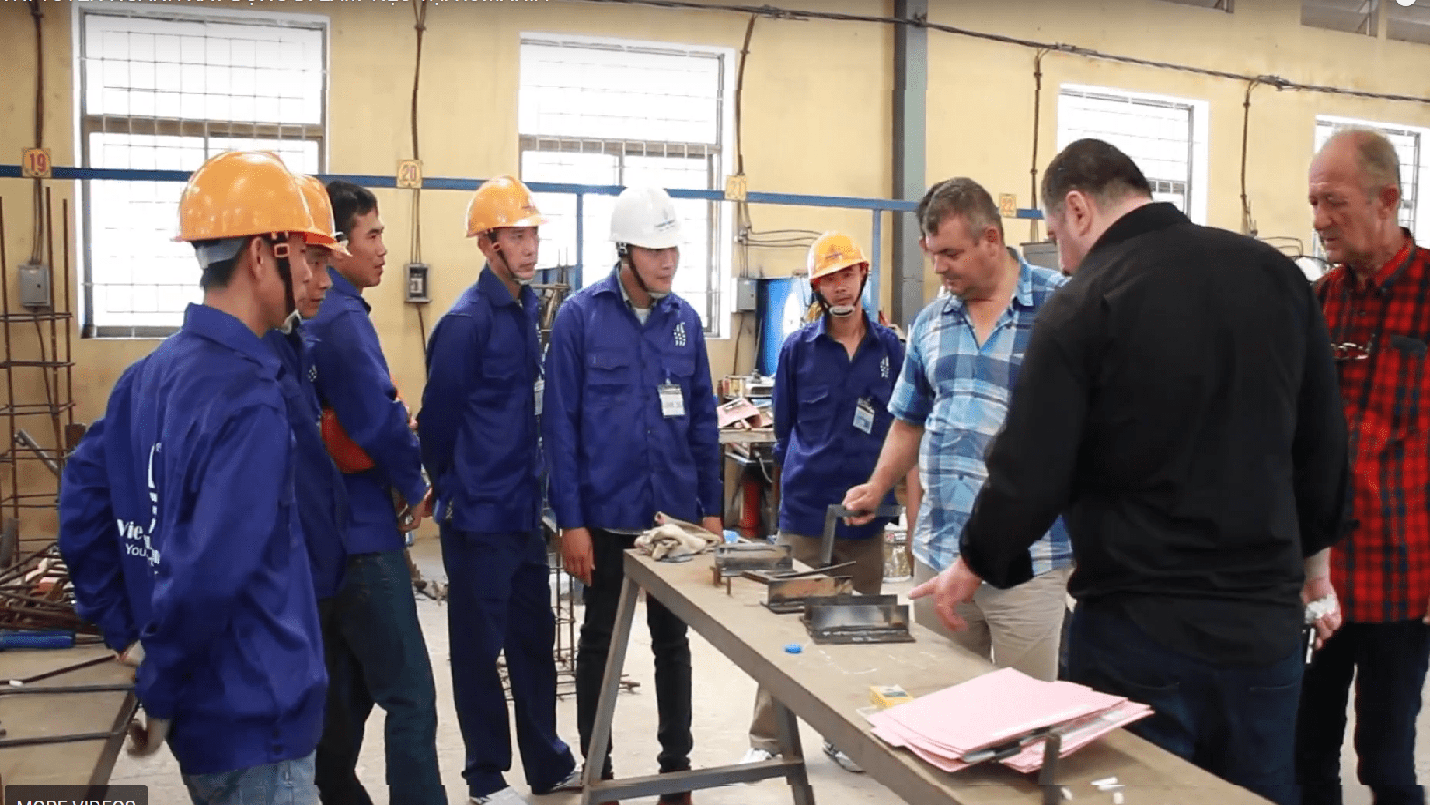 50 workers recruited – a very satisfying result of close collaboration between Vietnam Manpower and S.C.S.A Co., Ltd Romania.