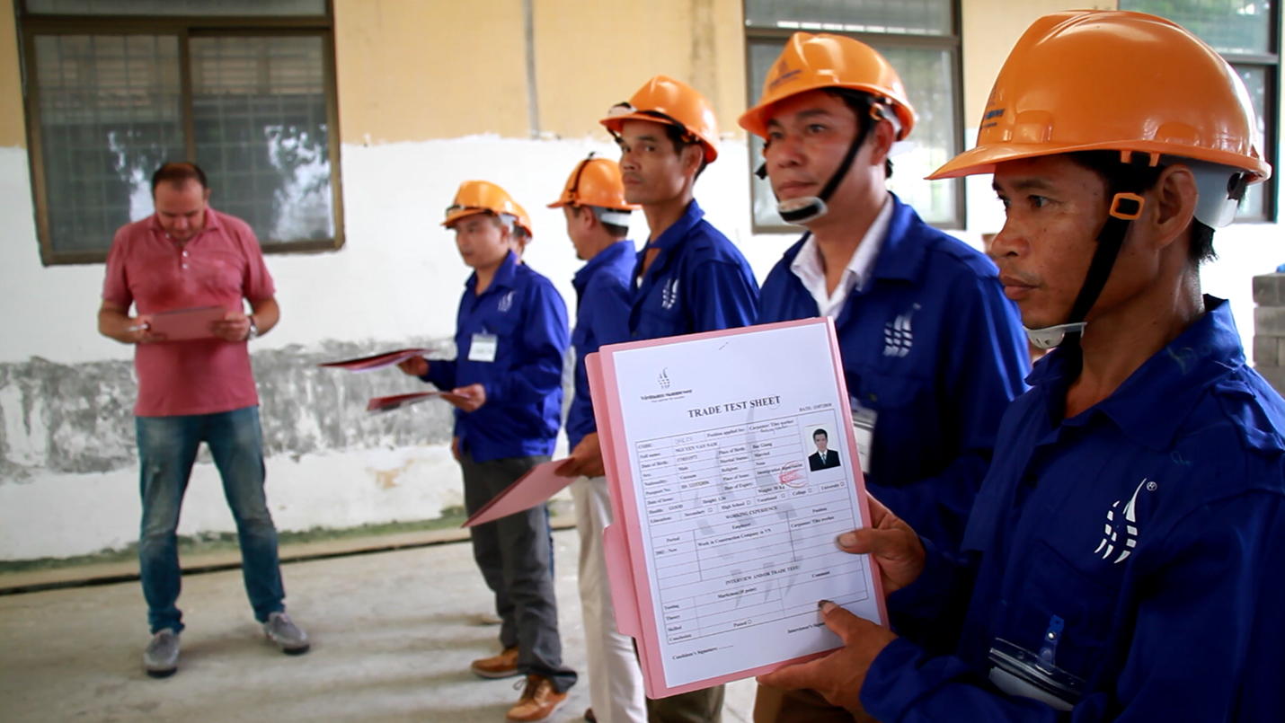 Vietnam Manpower had successfully supplied CMC Construction Company from Romania workers in diverse positions: Electricians, Piping Fitters, Tilers, Carpenters and Steel Fixers