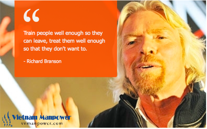 Richard Branson Quote on Training Employees