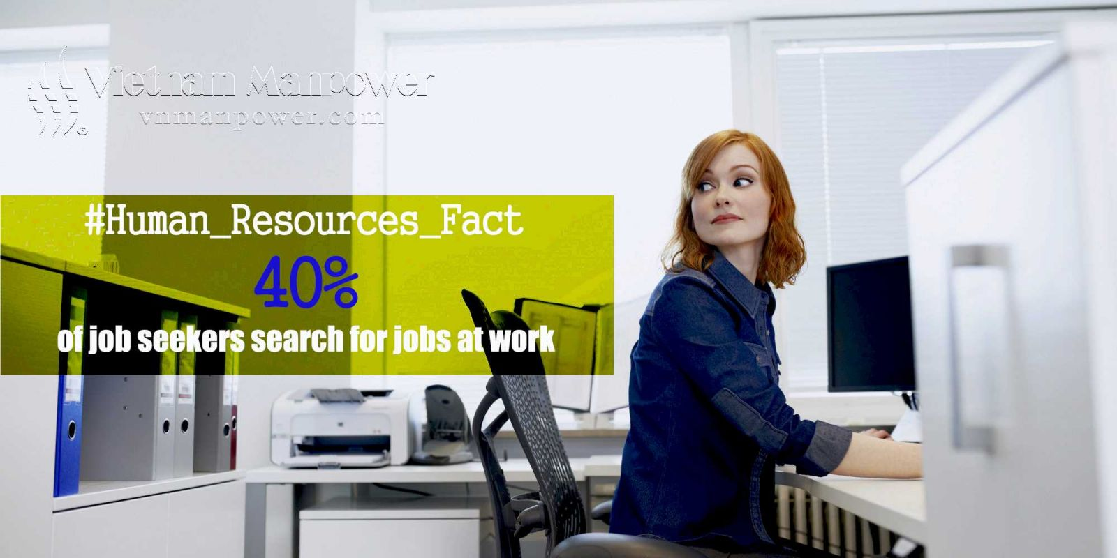 40% job seekers search for job at work