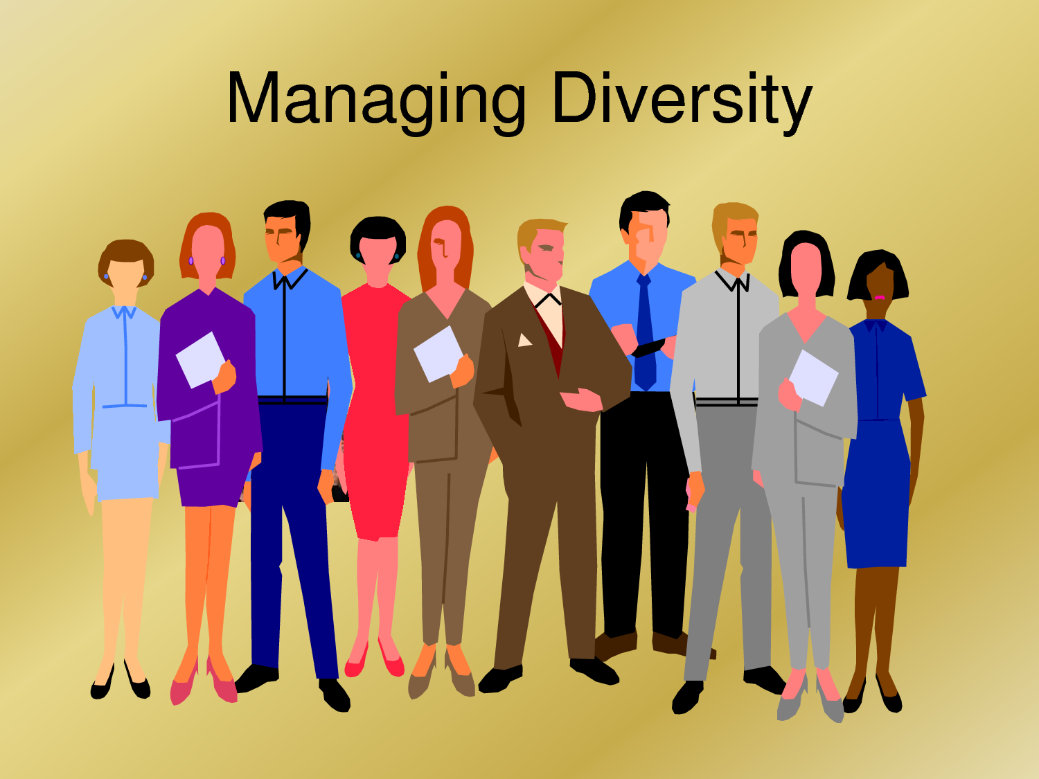 management of cultural diversity in workplace Hr plays a critical role in creating an inclusive environment, which includes understanding the cultural diversity of your workforce both domestically and abroad inherent diversity — things like gender, race, physical or mental disabilities — is what most businesses first consider when building diversity campaigns.