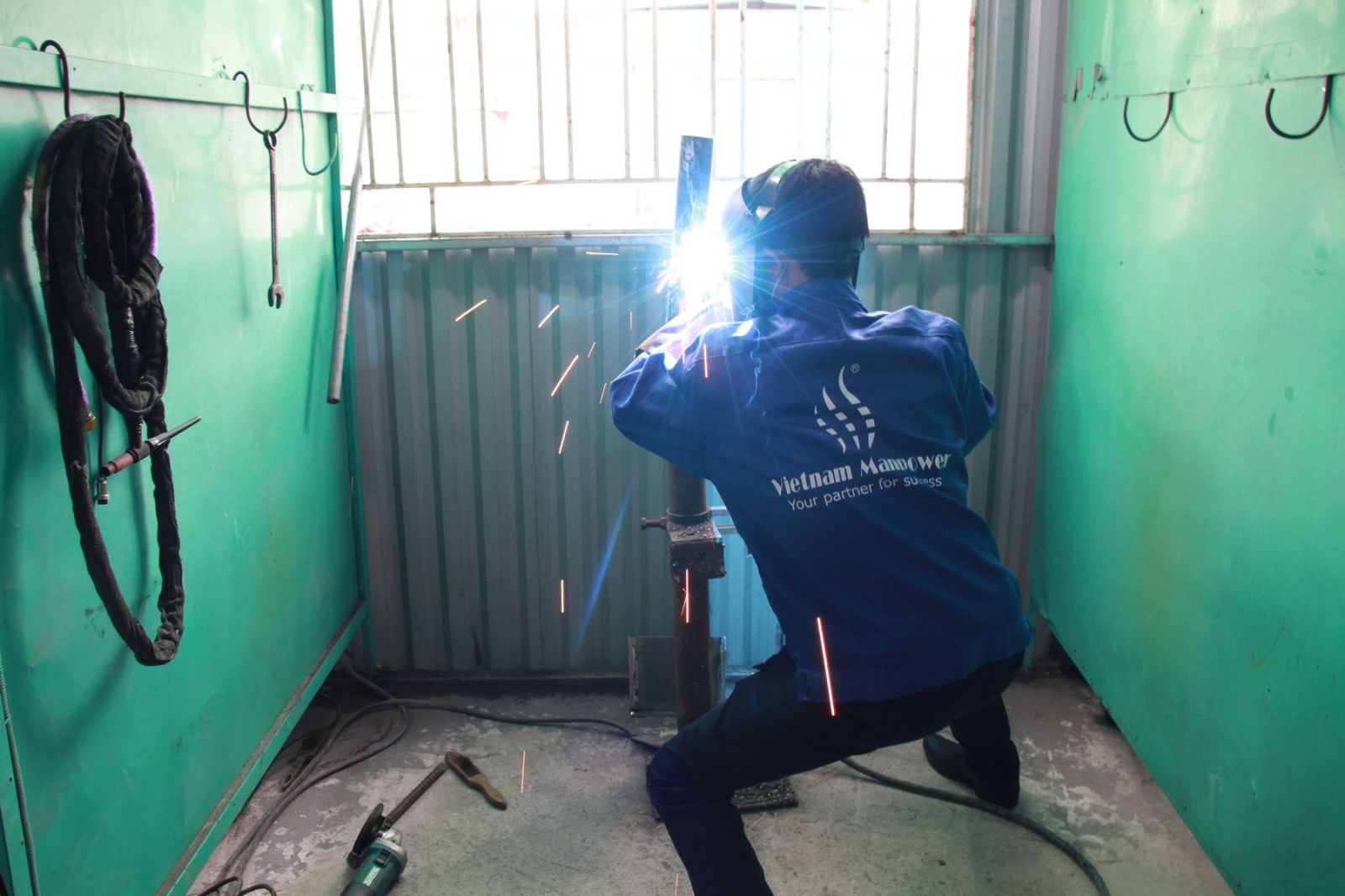 50 Vietnamese welders with good skills recruited in a successful campaign for Slovakia partner
