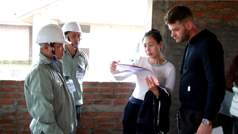 The first recruitment cooperation between Vietnam Manpower and SC Construct, Romania- a leading company specializing in construction industry