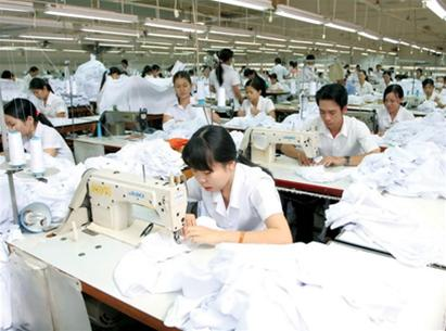 Vietnam Garment workers