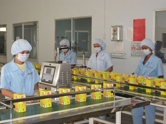 Vietnam packing supervisor in F& B Industry