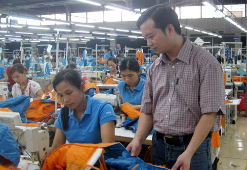 Textile & footwear workers provided by Vietnam Manpower