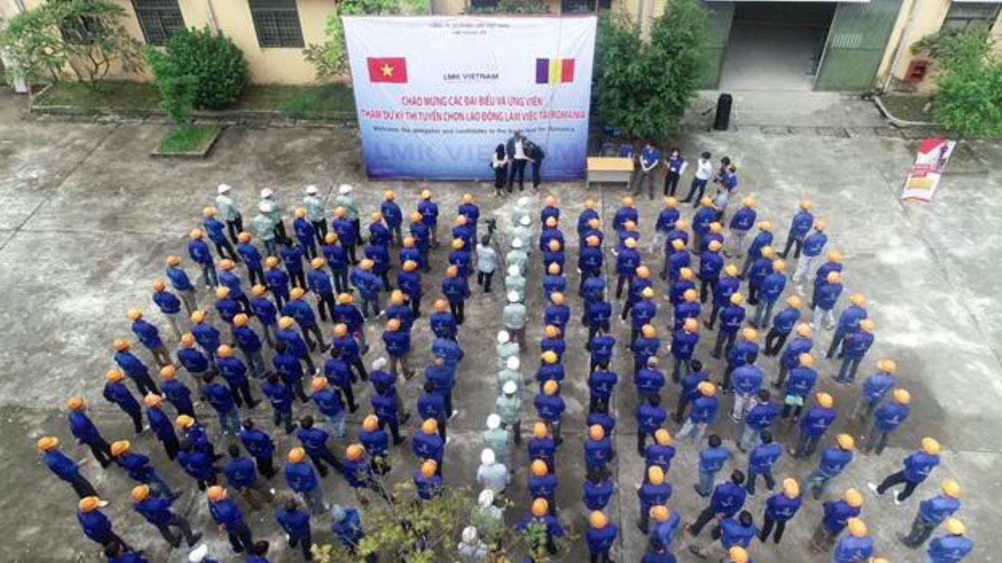 The first recruitment cooperation between Vietnam Manpower and BF Romania - a leading company specialized in integrated services for all types of buildings.