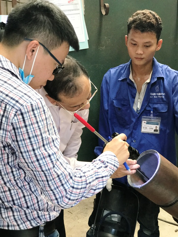 Vietnam Manpower successfully recruited more than 80 welders in the second recruitment campaign for NCC Group