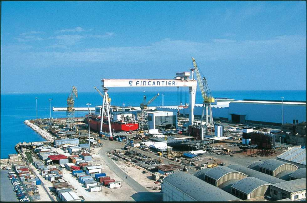 Outstanding shipyards in Europe